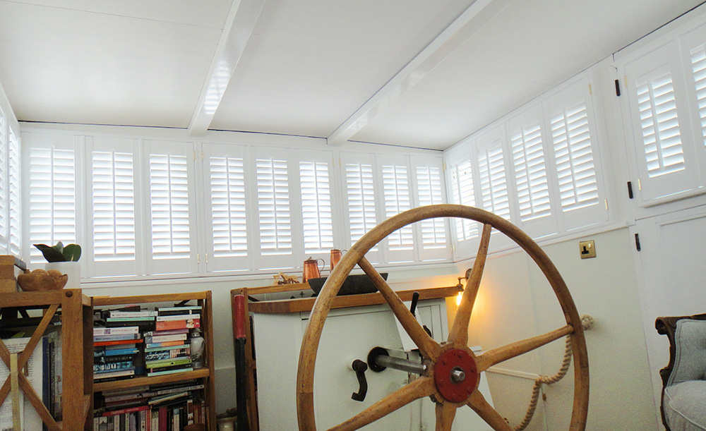 Interior Shutters in a boat - 4