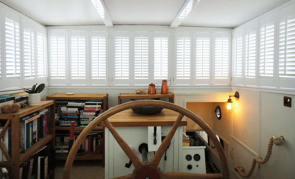 Interior Shutters in a boat - 5