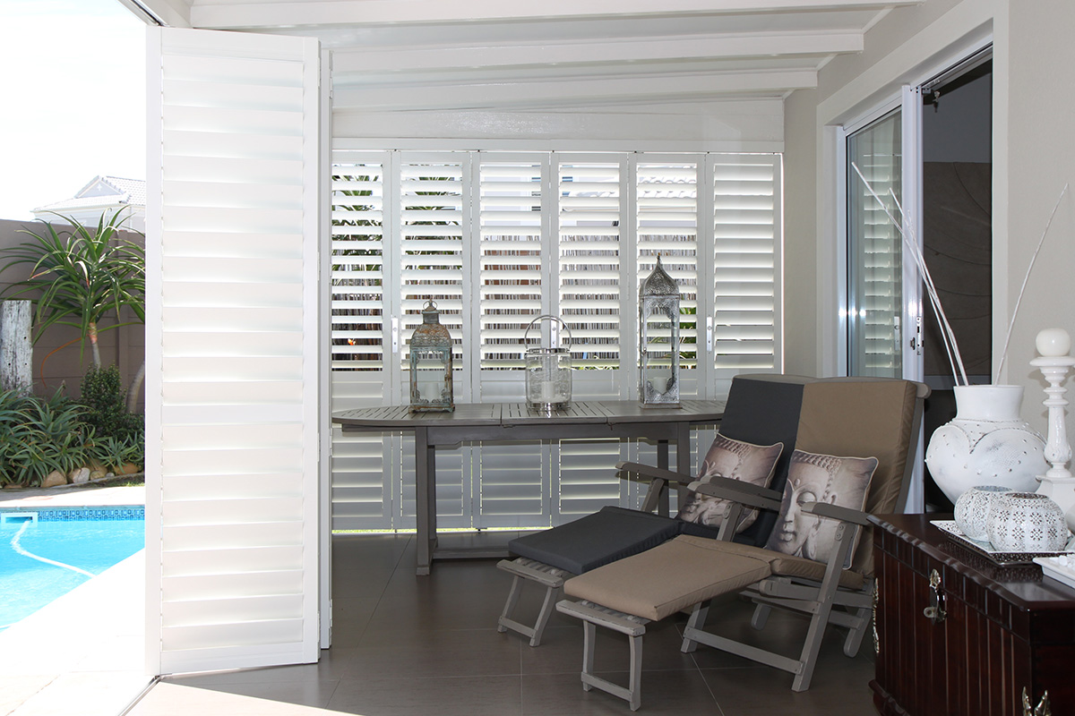 Aluminium Security Shutters Plantation Shutters