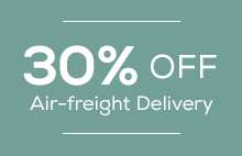30% off Air-freight Delivery
