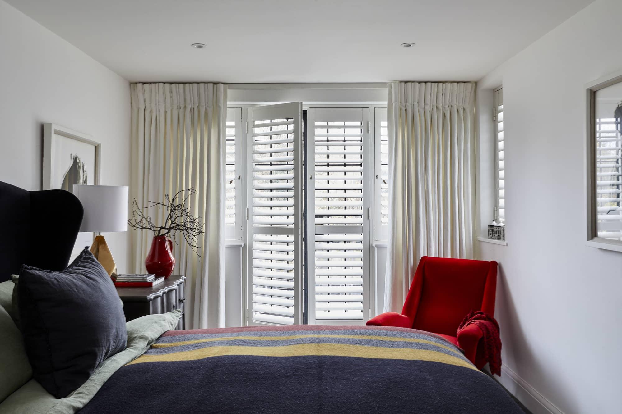 Aluminium Bedroom Shutters by Plantation Shutters Ltd.jpg
