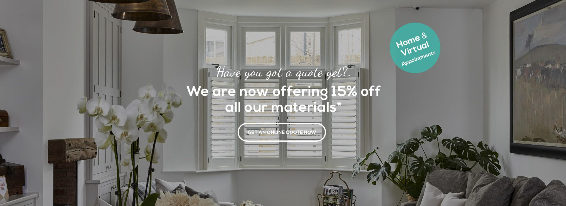 Promotional 10 Year Warranty by Plantation Shutters Ltd