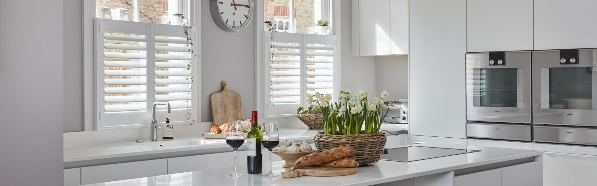 Kitchen Shutters by Plantation Shutters Ltd