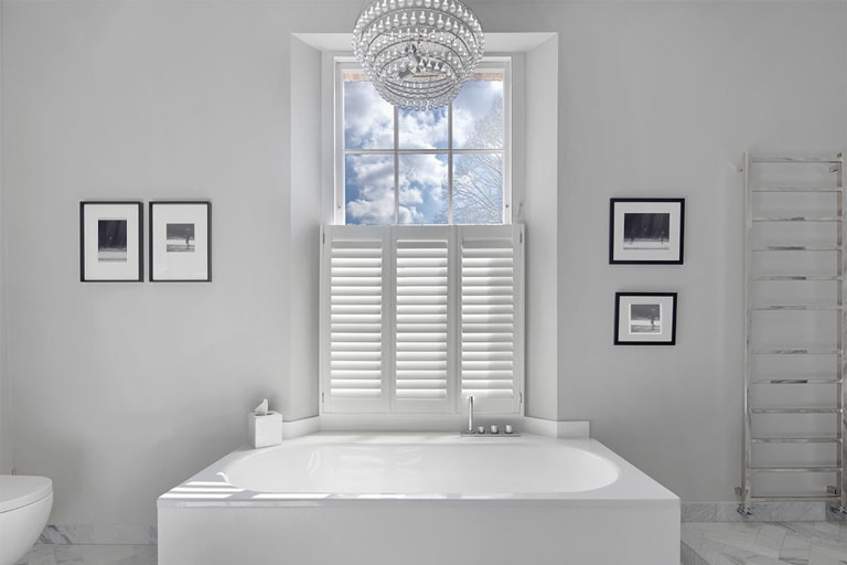 Bathroom Shutters by Plantation Shutters Ltd
