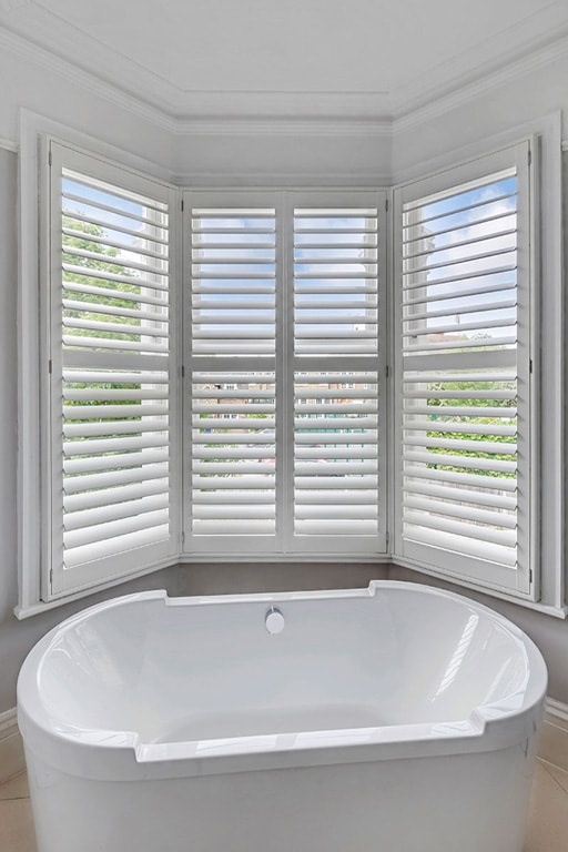 Bathroom Shutters by Plantation Shutters Ltd London