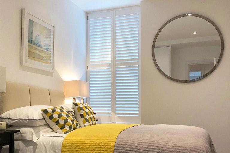 Bedroom Shutters By Plantation Shutters Ltd London
