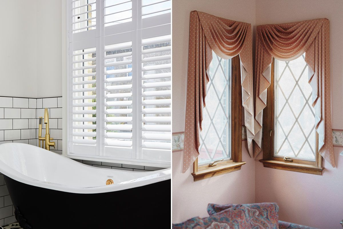 Plantation Shutters Or Curtains Philippa Thorp Chooses