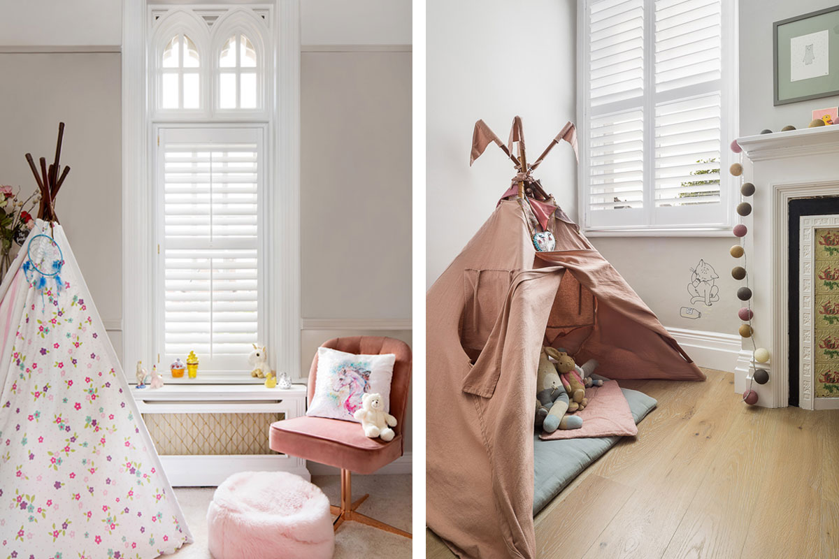 Childs room by Plantation Shutters Ltd