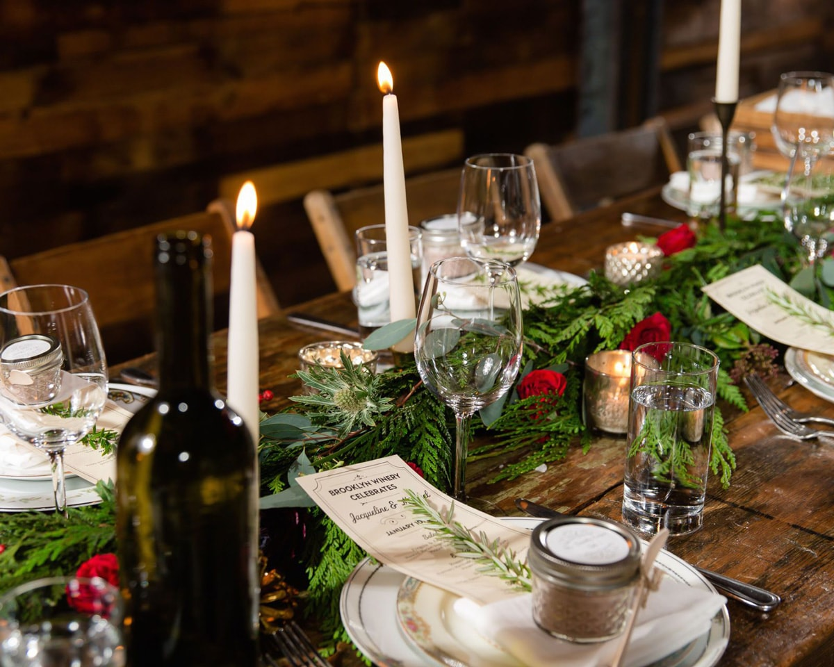Make an Unforgettable Table Display this Christmas- Table 1