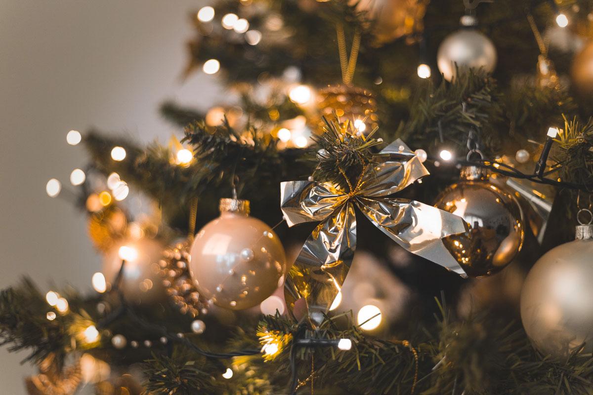 Christmas decor by Plantation Shutters Ltd