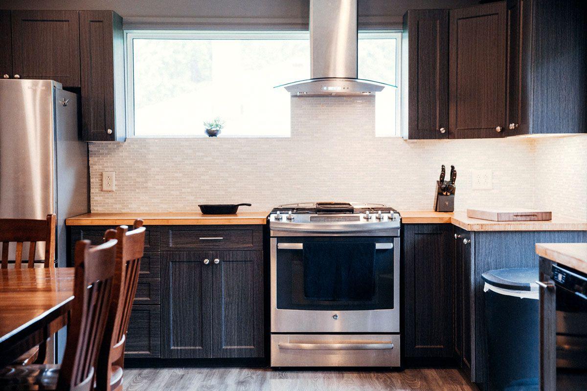 Dark Kitchens by Plantation Shutters Ltd