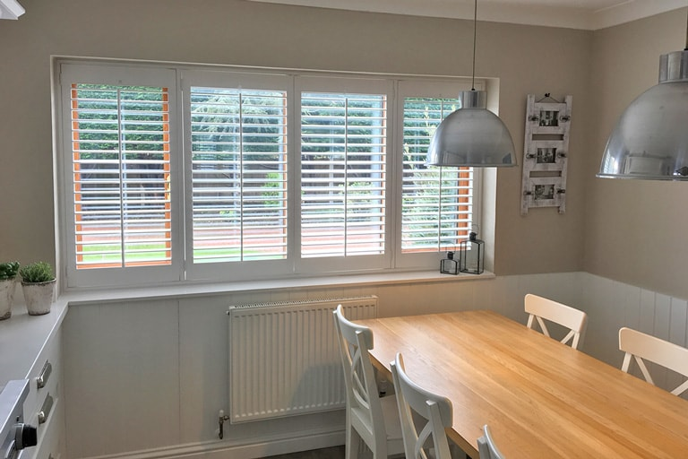 BDining Room Shutters by Plantation Shutters Ltd
