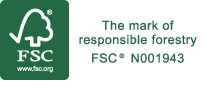 FSC® - Look out for our certified products