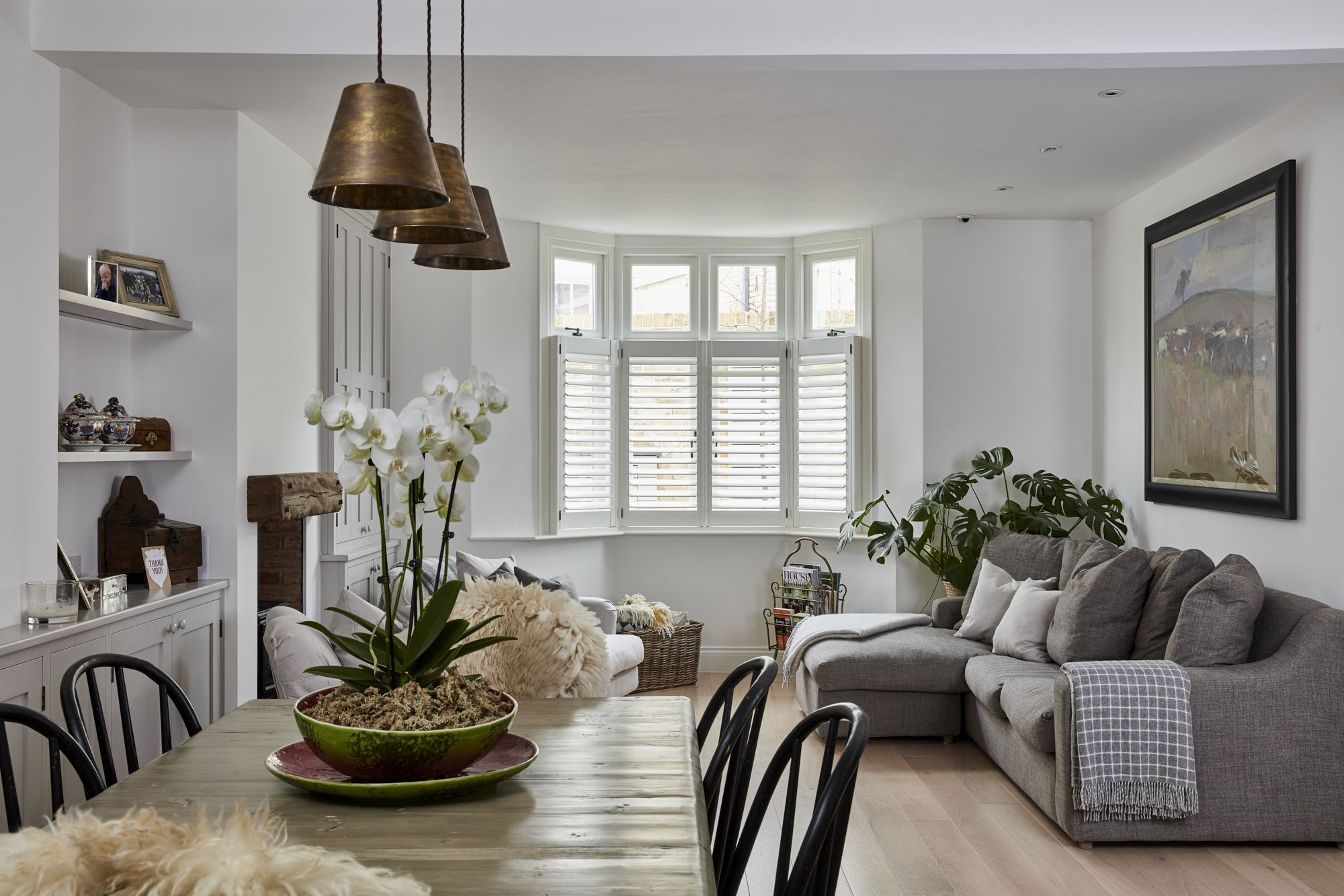 Living Room Shutters by Plantation Shutters Ltd