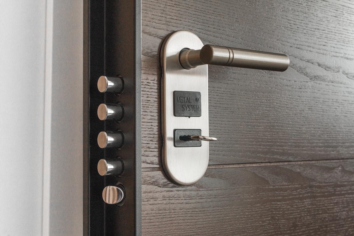 Locking System on Door Plantation Shutters Ltd.jpg