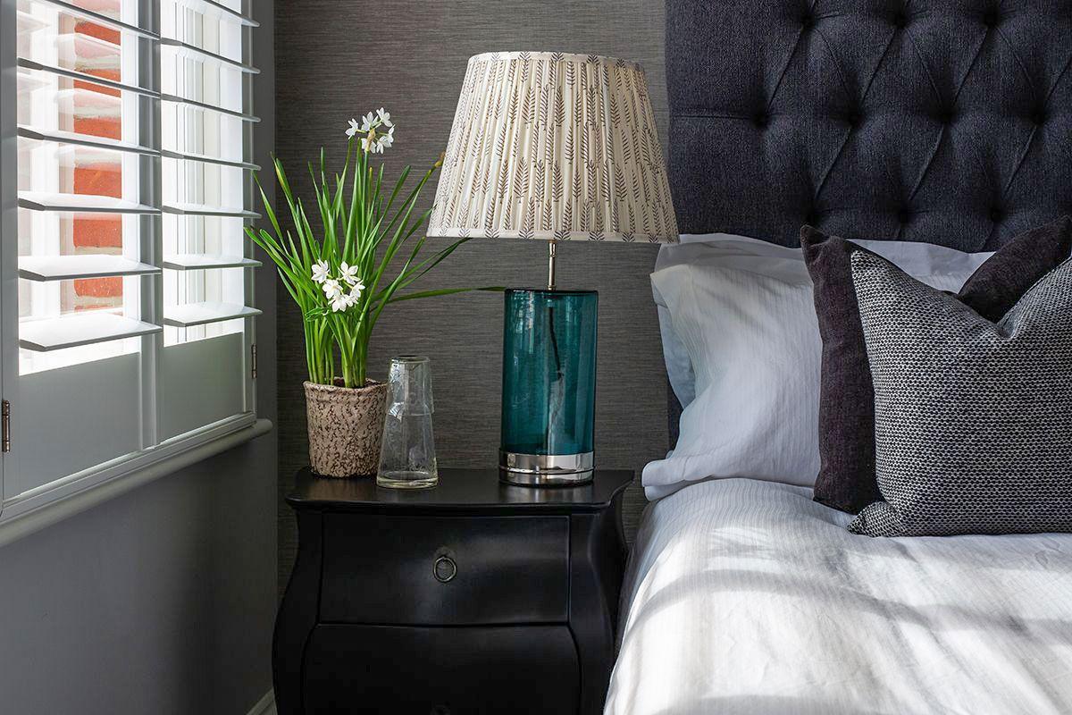 Luxurious Bedroom by Plantation Shutters Ltd