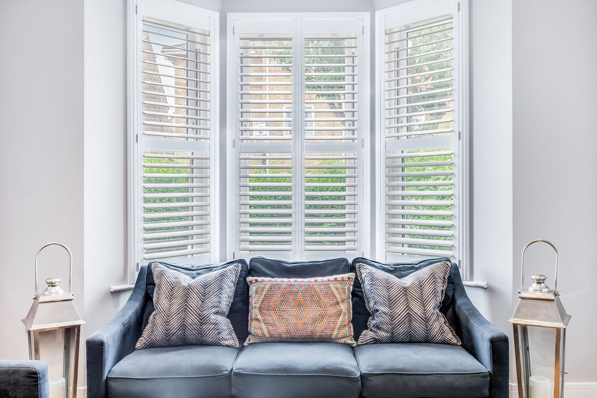 Bay Window Shutters by Plantation Shutters Ltd