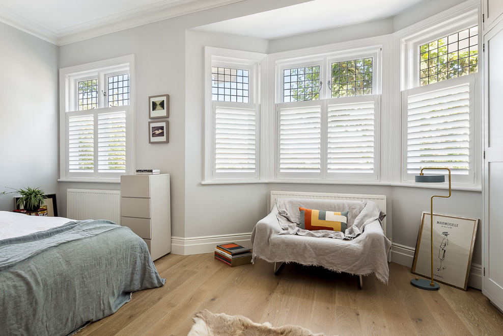Cafe Style Shutters by Plantation Shutters Ltd