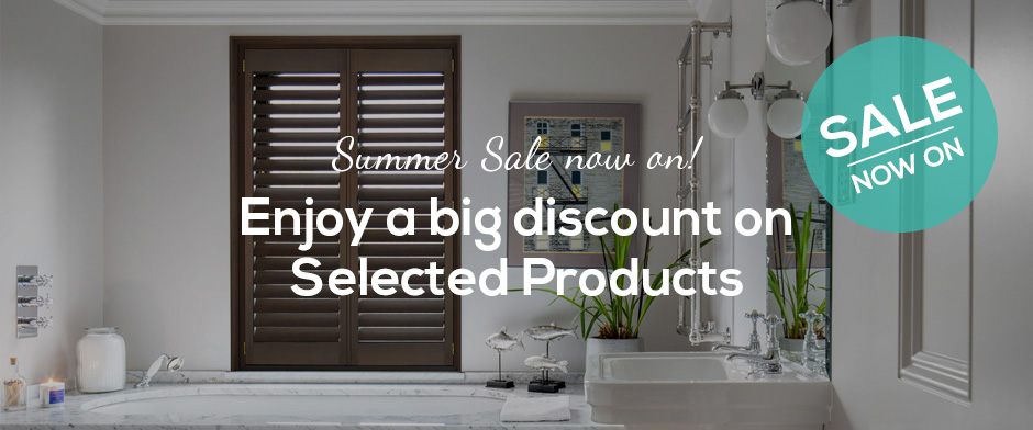 SALE NOW - Up to 20% OFF Selected Materials by Plantation Shutters Ltd