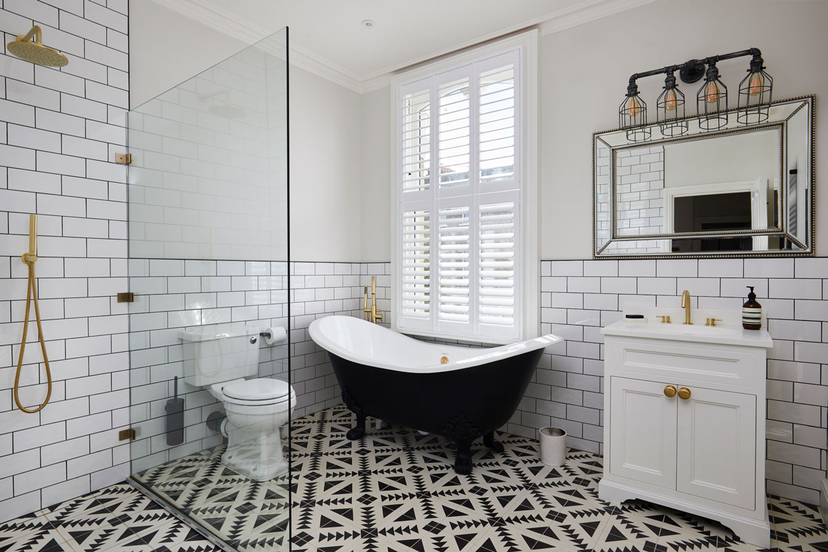 Personalize you bathroom by Plantation Shutters Ltd