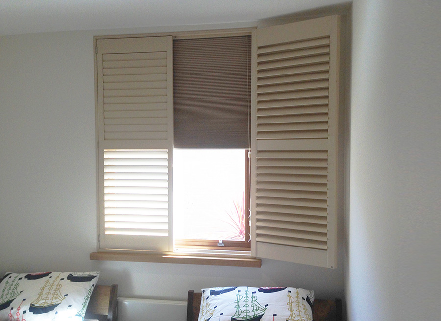 Room Darkening Blackout Shutters Plantation Shutters