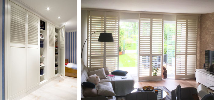 Shutters for doors & Shutters for doors | French u0026 Patio Doors | Plantation Shutters