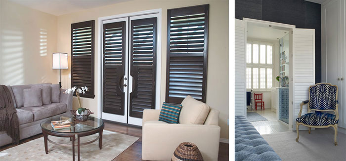 Shutters For Doors French Patio Doors Plantation Shutters