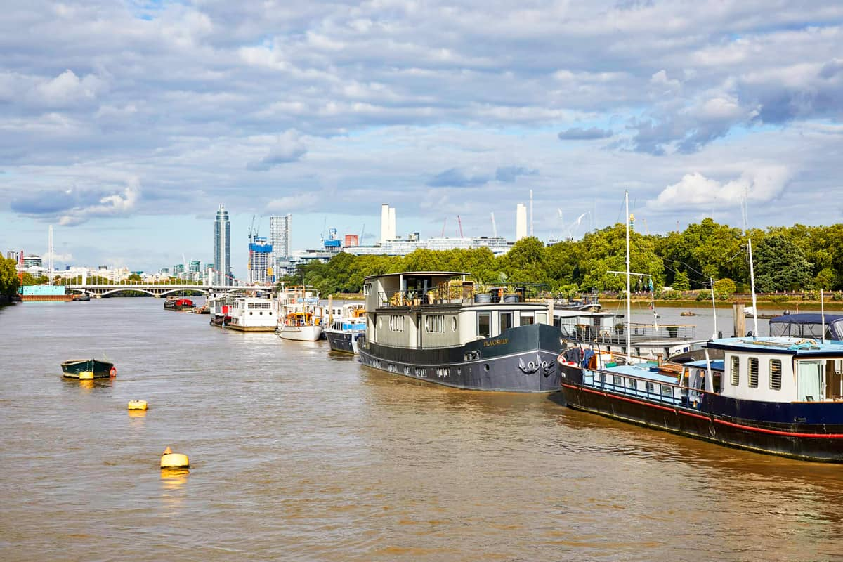 House Boat Shutters - Things to do in London this bank holiday weekend by Plantation Shutters Ltd