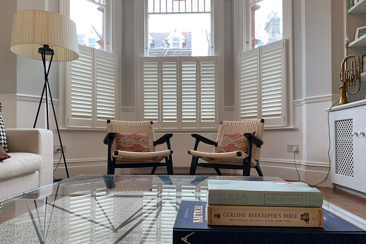 West London Living Room with Plantation Shutters.jpg