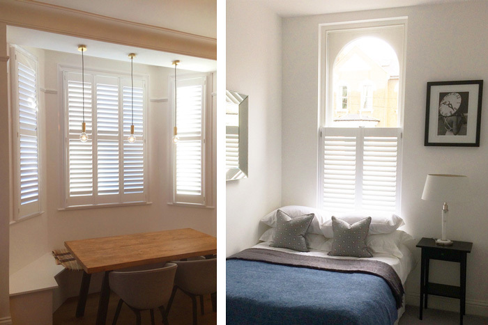 Full Height and Solid Panel Shutters