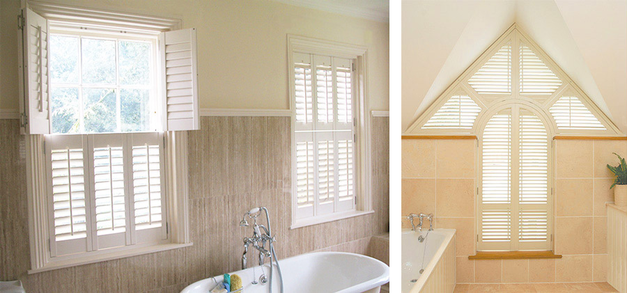 Bathroom Shutters Interior Window Shutters Plantation