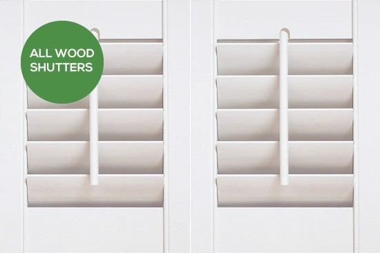 All Wood Shutters by Plantation Shutters Ltd