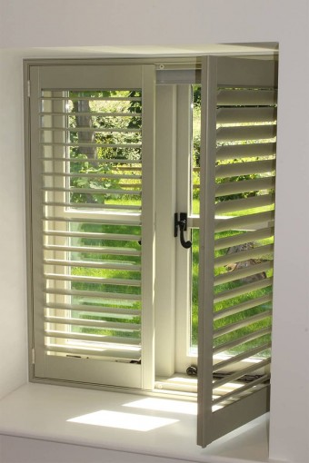 Open Panel Shutters by Plantation Shutters Ltd