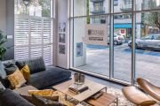 BoConcept Showroom Battersea by Plantation Shutters Ltd