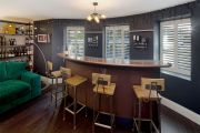 Full Height Shutters in a Residential Bar