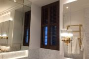 Full Height Shutters in the Bathroom