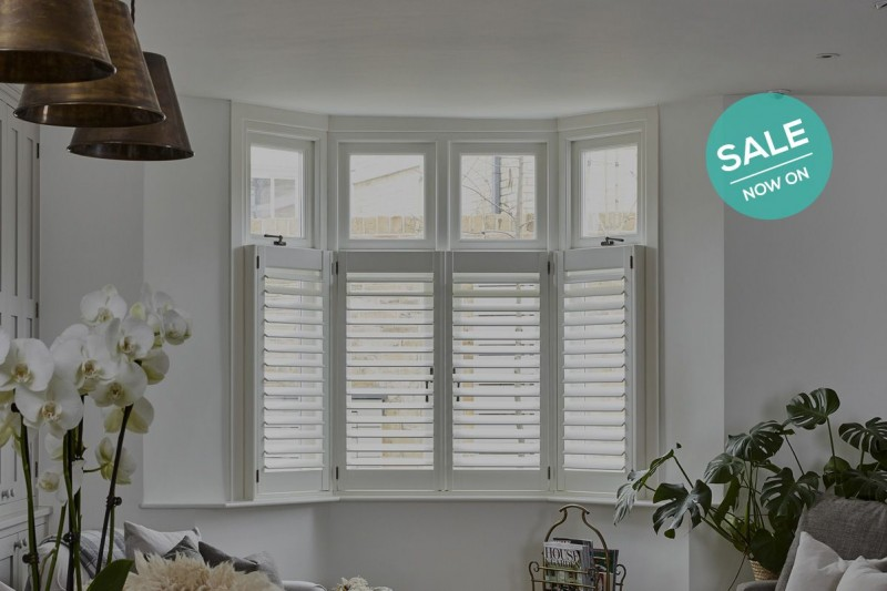 10% Off Selected Materials - Make the most of our February Sale and get in touch today - Plantation Shutters Ltd