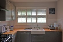 Full Height Shutters in the Kitchen