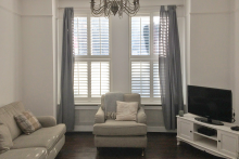 Tier on Tier Shutters in the Living Room
