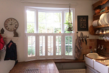 Cafe Style Shutters in a Kitchen Barnes