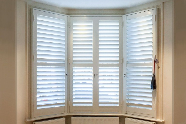 Aluminium Security Shutters by Plantation Shutters Ltd