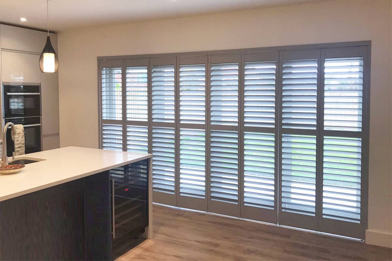 grey-shutters-for-doors-plantation-shutters-ltd