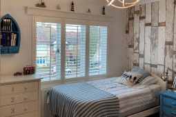 Nautical Room by Plantation Shutters Ltd